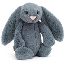 Jellycat Bashful Blush Dusky Blue 31cm