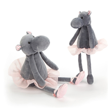 Jellycat teddy elephant grey ballerina
