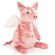 Jellycat Piggy Might Fly 20 cm