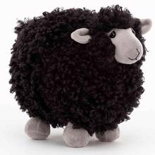 Jellycat Rolbie Sheep Black 15 cm