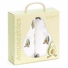 Jellycat Amuseable Avocado Muslins