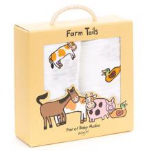 Jellycat Farm Friends Muslins