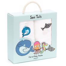 Jellycat Ocean Friends Muslins