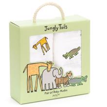 Jellycat Jungle Friends Muslins