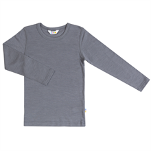 Joha Blouse Wool/Silk L/S Grey