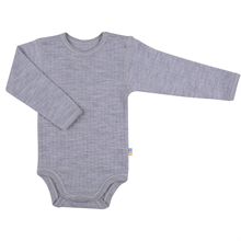 Joha Body Wool L/S Grey Melange