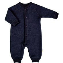 Joha Jumpsuit Wool Blue