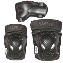 Street Surfing Save My Bone Protecting Set Black