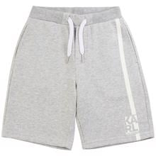 Karl Lagerfeld Kids Boy Bermuda Shorts Chine Grey