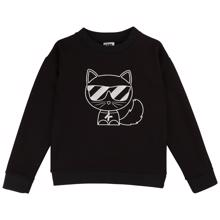 Karl Lagerfeld Kids Girl Sweatshirt Black