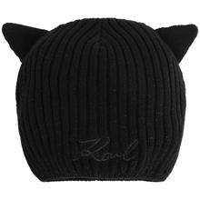 Karl Lagerfeld Kids Black Pull On Hat