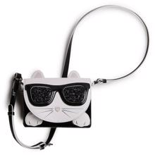 Karl Lagerfeld Kids Black Shoulder Bag