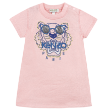 Kenzo Tiger Dress Middle Pink