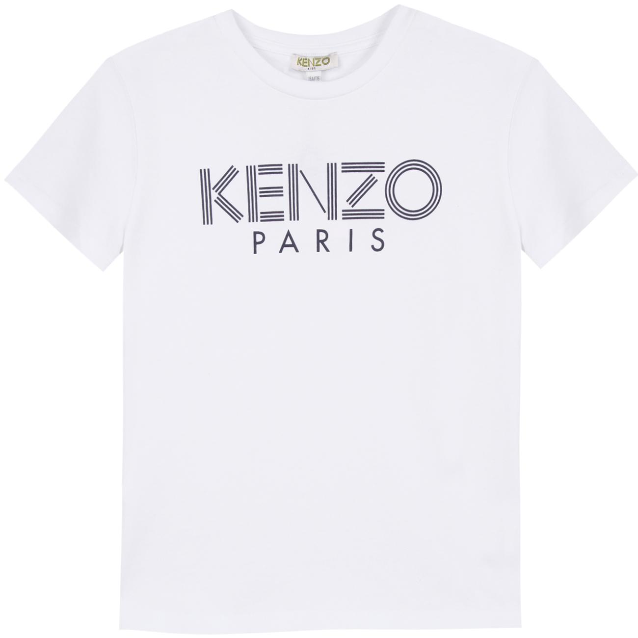 Kenzo Logo JB Tee Shirt Optical White