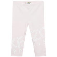 Kenzo Logo BG Leggings Light Pink