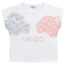 Kenzo Fanette Tee Shirt Optic White