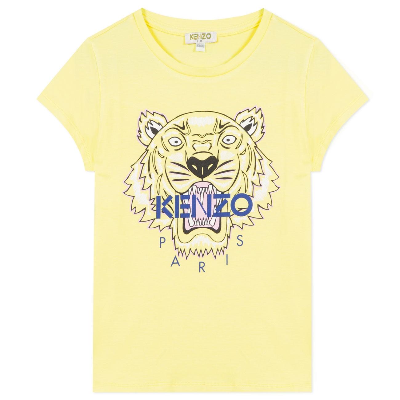 Kenzo Tiger T shirt Lemon