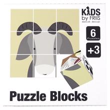 Kids by Friis Puzzle Blocks Fairytales