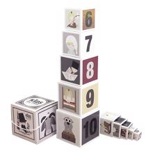 Kids by Friis Stacking Cubes Fairytales