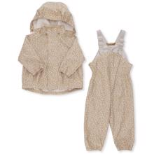 Konges Sløjd Palme Rainwear Set Melodie Dark Honey