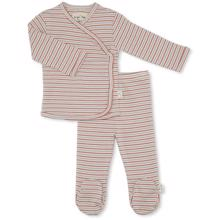 Konges Sløjd Dio Newborn Two Piece Set Tricolore Stripes