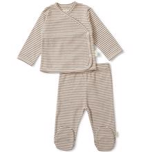 Konges Sløjd Dio Two Piece Newborn Set Mocca/Beige
