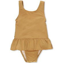 Konges Sløjd Soleil Mustard Girls Uni UV Swimsuit