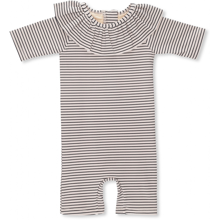 Konges Sløjd Soleil Striped Navy/Nature Girls UV Suit