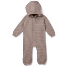 Konges Sløjd Wool Tomama Onsie Paloma Brown/Honey Comb