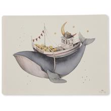 Konges Sløjd Nature/Whale Silicone Placemat