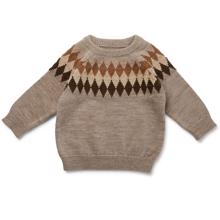 Konges Sløjd Wool Milly Knit Paloma Brown