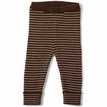 Konges Sløjd Wool Meo Pants Almond/Creamy White