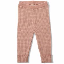 Konges Sløjd Wool Meo Pants Honey Burst/Creamy White