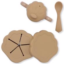 Konges Sløjd Silicone Clam Set Terra Cotta