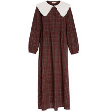 Konges Sløjd Mommy Holly Dress Bordeaux Check