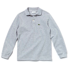 Lacoste Polo Tee L/S CCA Argent Chine