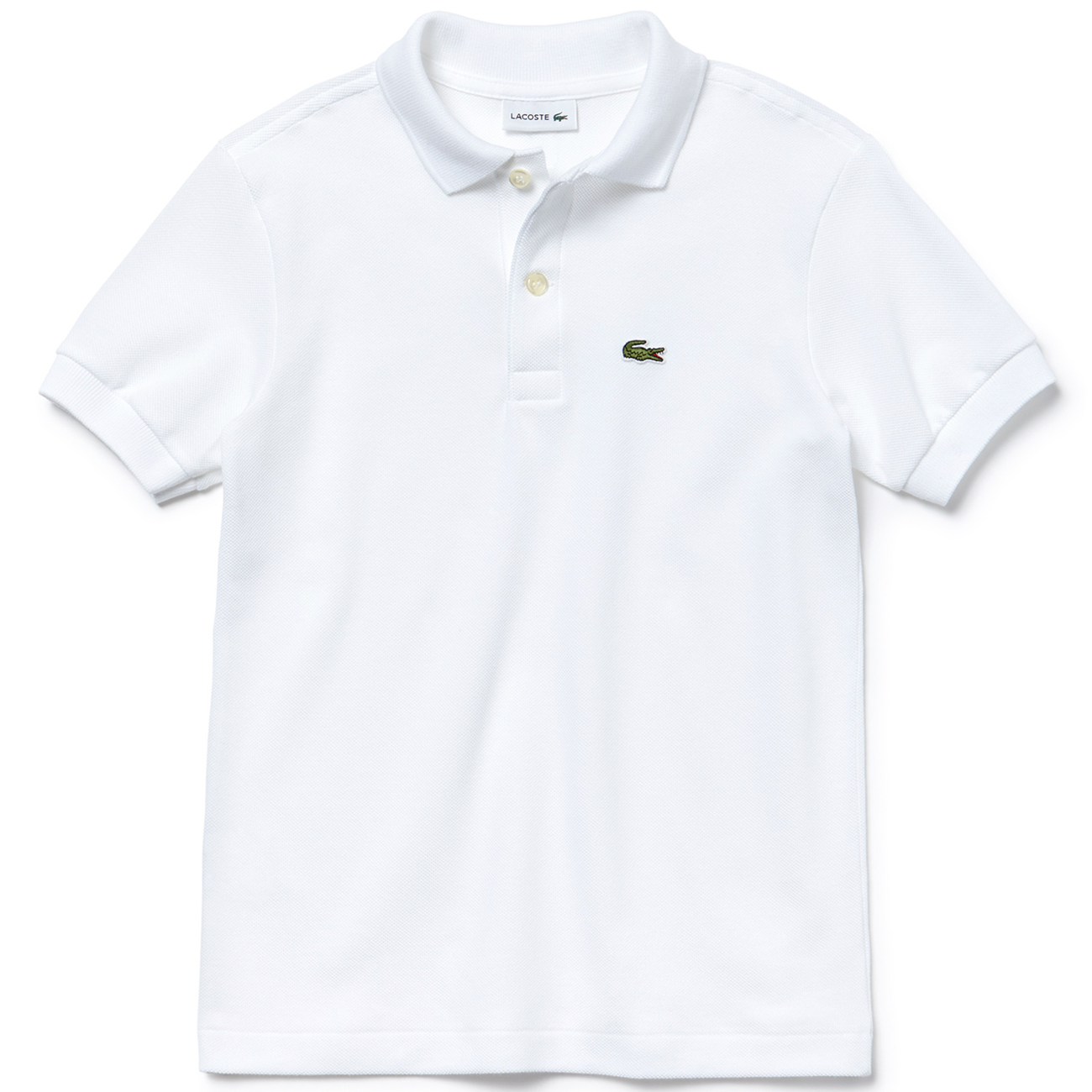 Blanc Bf7gy6yv Polo Ss Lacoste Tee N80Owmyvn