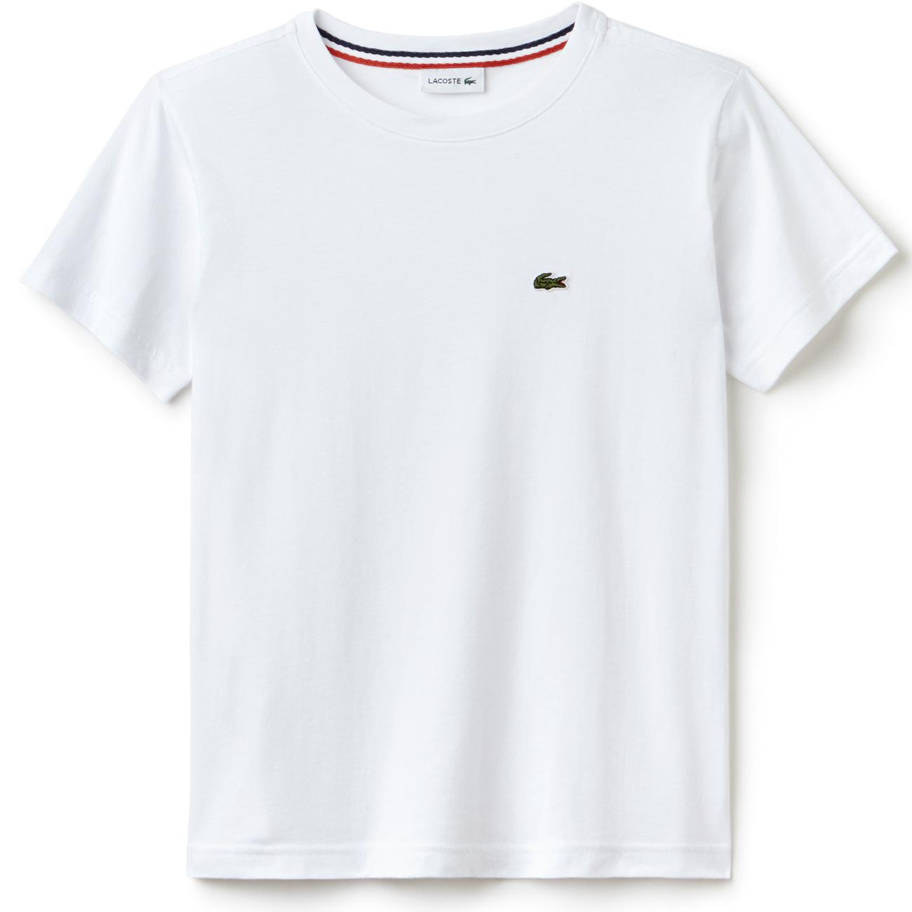 Lacoste T-Shirt Blanc