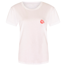Lala Berlin Cara Lips T-shirt White