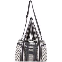 Lala Berlin Small Bag Muriel Kufiya Off White/Black
