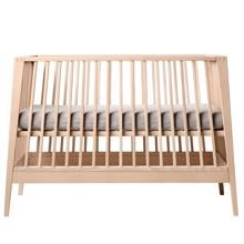 Leander Linea Baby Cot without Mattress Beech