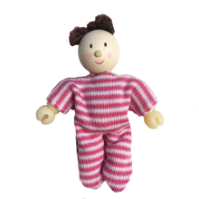 Le Toy Van Budkin Lalababy Little Dollbaby Dark Hair