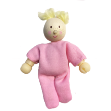 Le Toy Van Budkin Lalababy Little Dollbaby Blond Hair