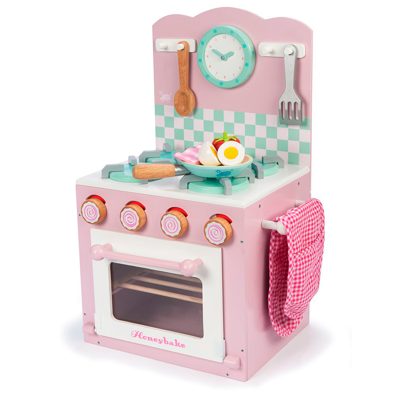 Le Toy Van Honeybake Kitchen Stove Pink