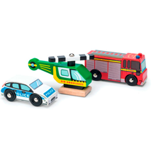 Le Toy Van Emergency Vehicles
