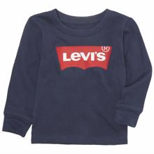 Levi's Batwing Tee Shirt Long Sleeve Dress Blues