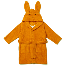 Liewood Lily Bathrobe Rabbit Mustard