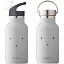 Liewood Anker Water Bottle Rabbit Dumbo Grey