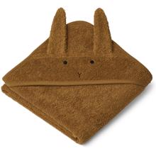 Liewood Albert Hooded Towel Rabbit Olive Green