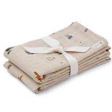 Liewood Lewis Muslin Cloth 2-pack Arctic Mix